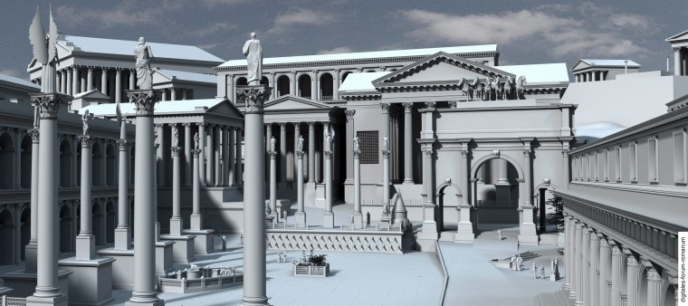 1000+ images about Forum Romanum on Pinterest | Ancient ... |Forum Romanum 3d